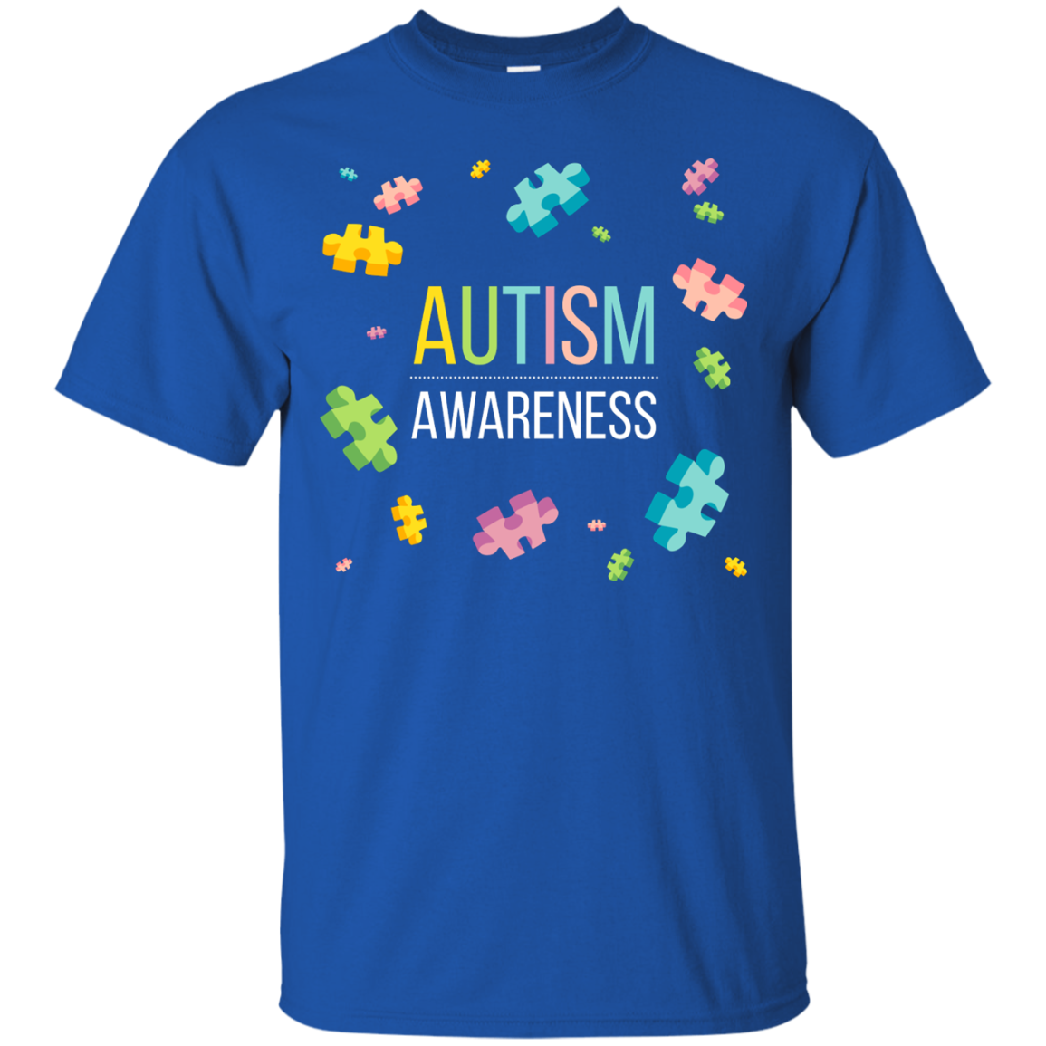 Autism Awareness Cute Lovely T-Shirts Hoodies Tank Tops - The Sun Cat