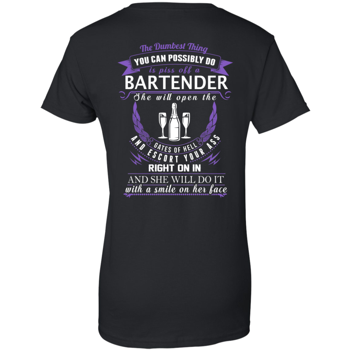 The Dumbest Thing...Bartender...With a smile on her face - TheSunCat.com - 11