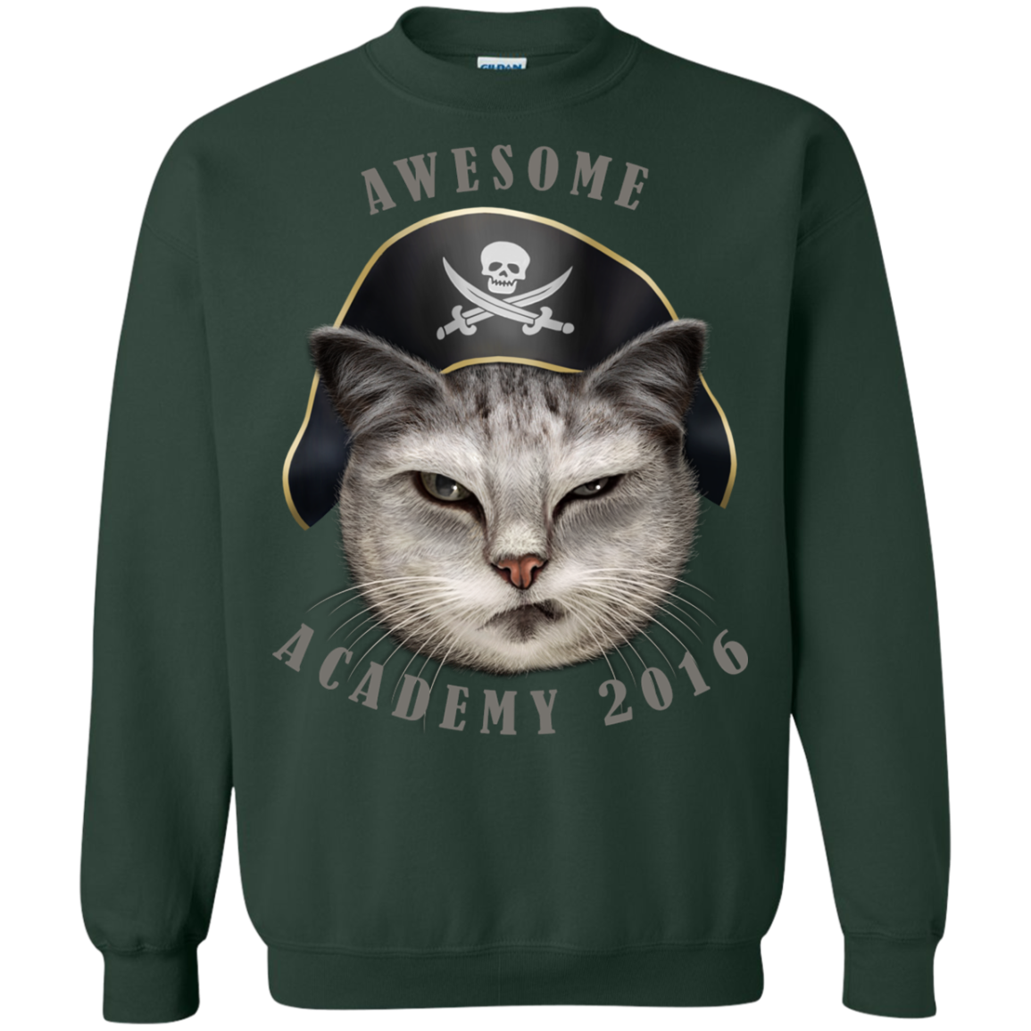 AWESOME ACADEMY Sweatshirt T-Shirt & Hoodie - The Sun Cat