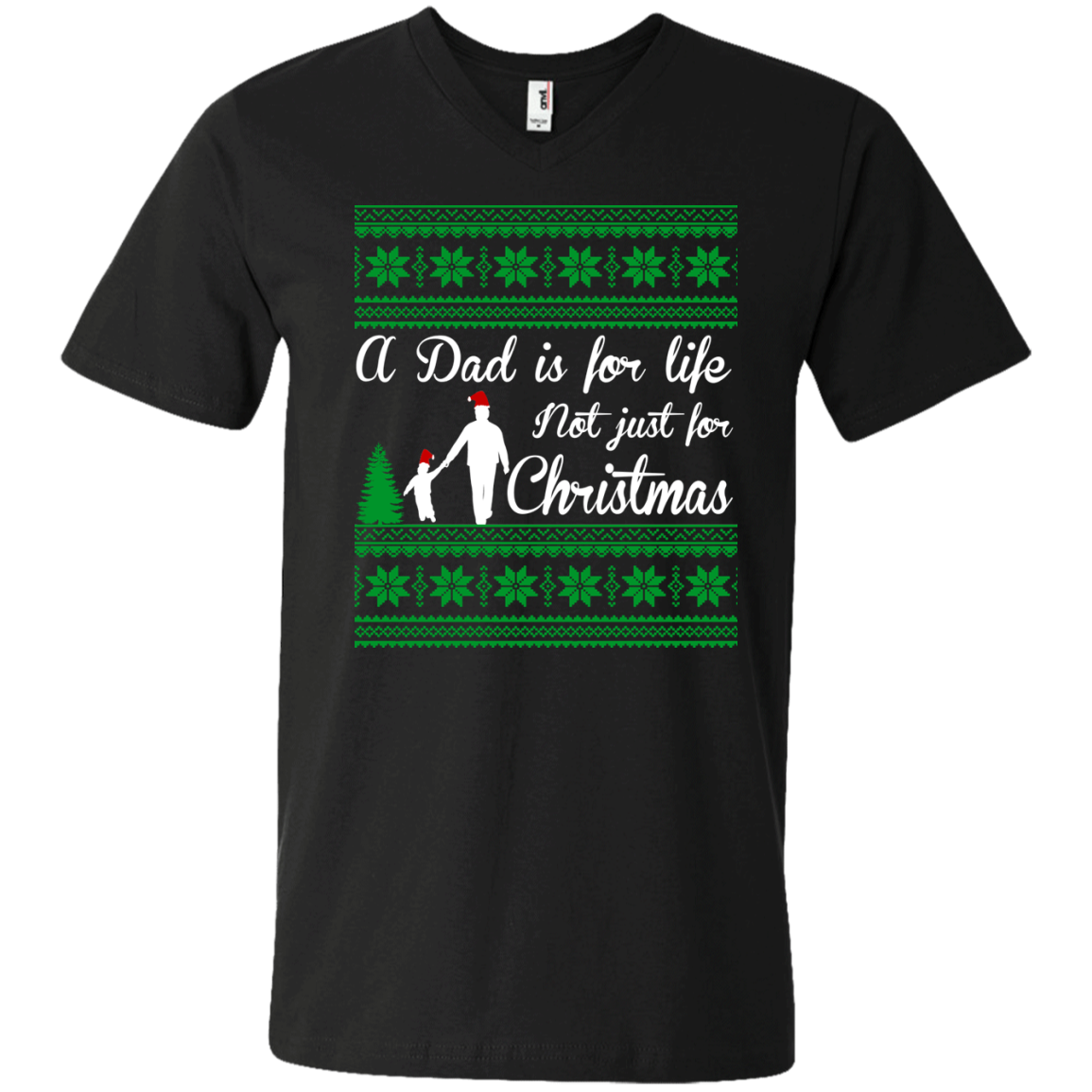 A Dad is for life not just for Christmas T Shirt - The Sun Cat
