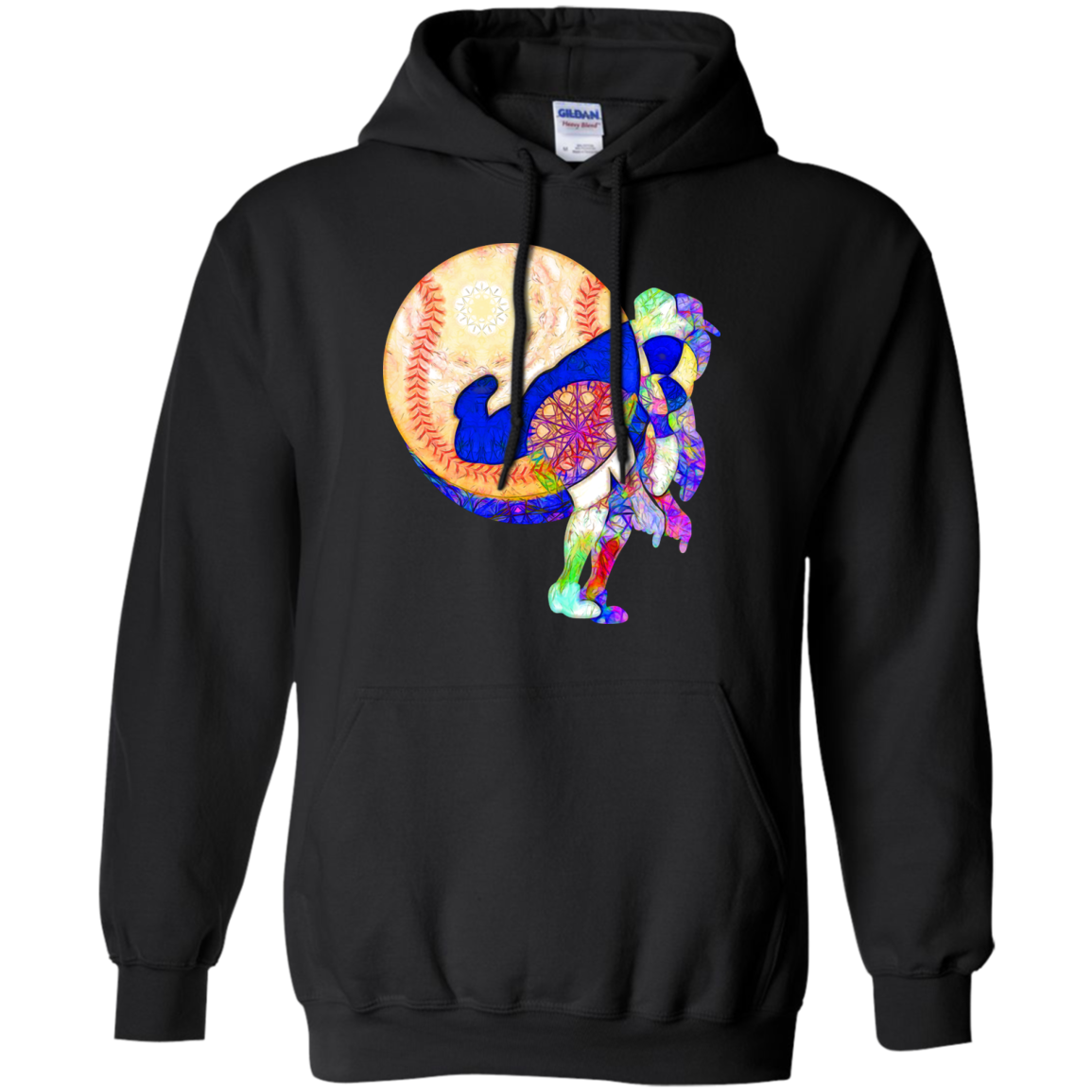 Baseball Pitcher Psychedelic Sweatshirt T-Shirt & Hoodie - The Sun Cat