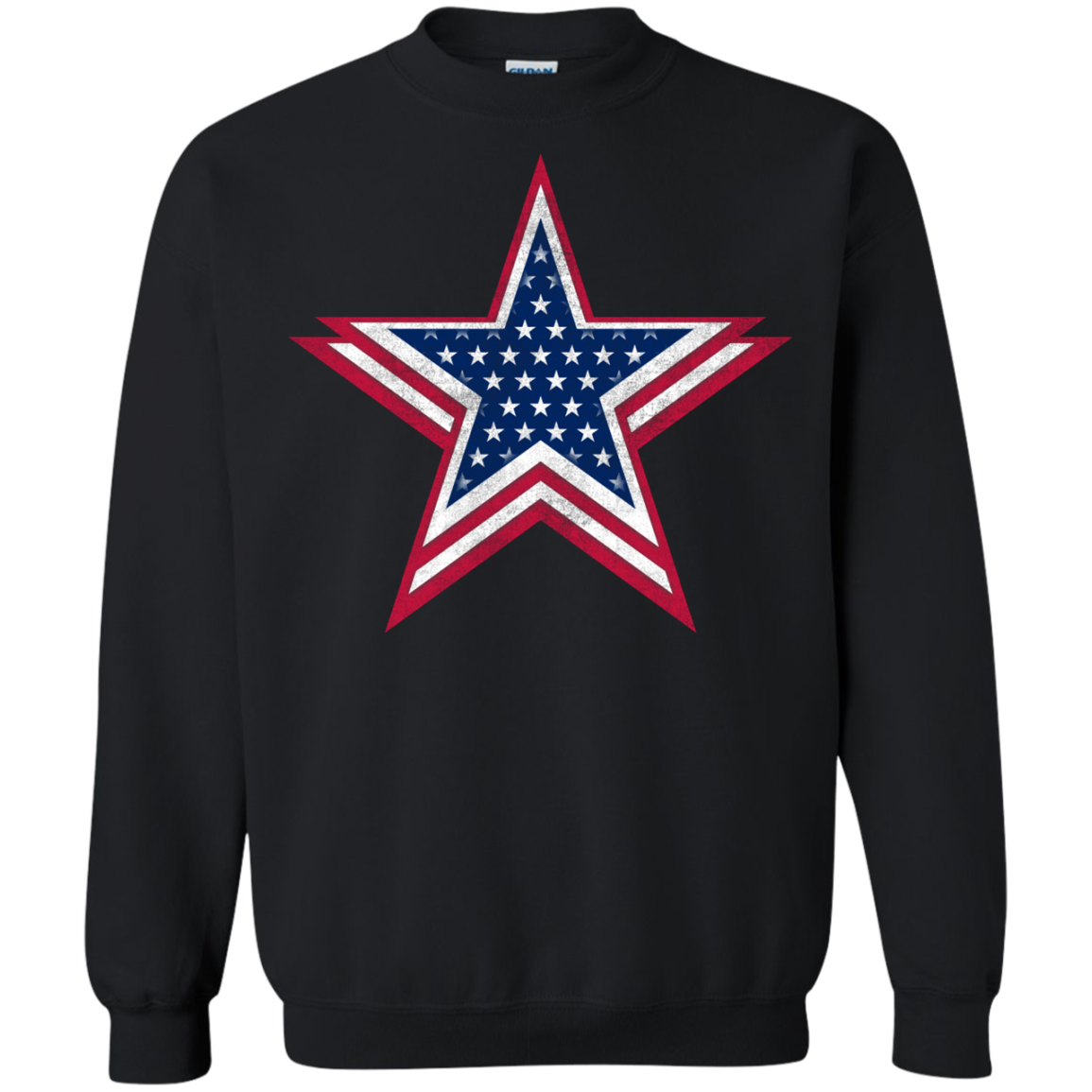 4th of July Big star 3 T-Shirt & Hoodie, Sweatshirt - The Sun Cat