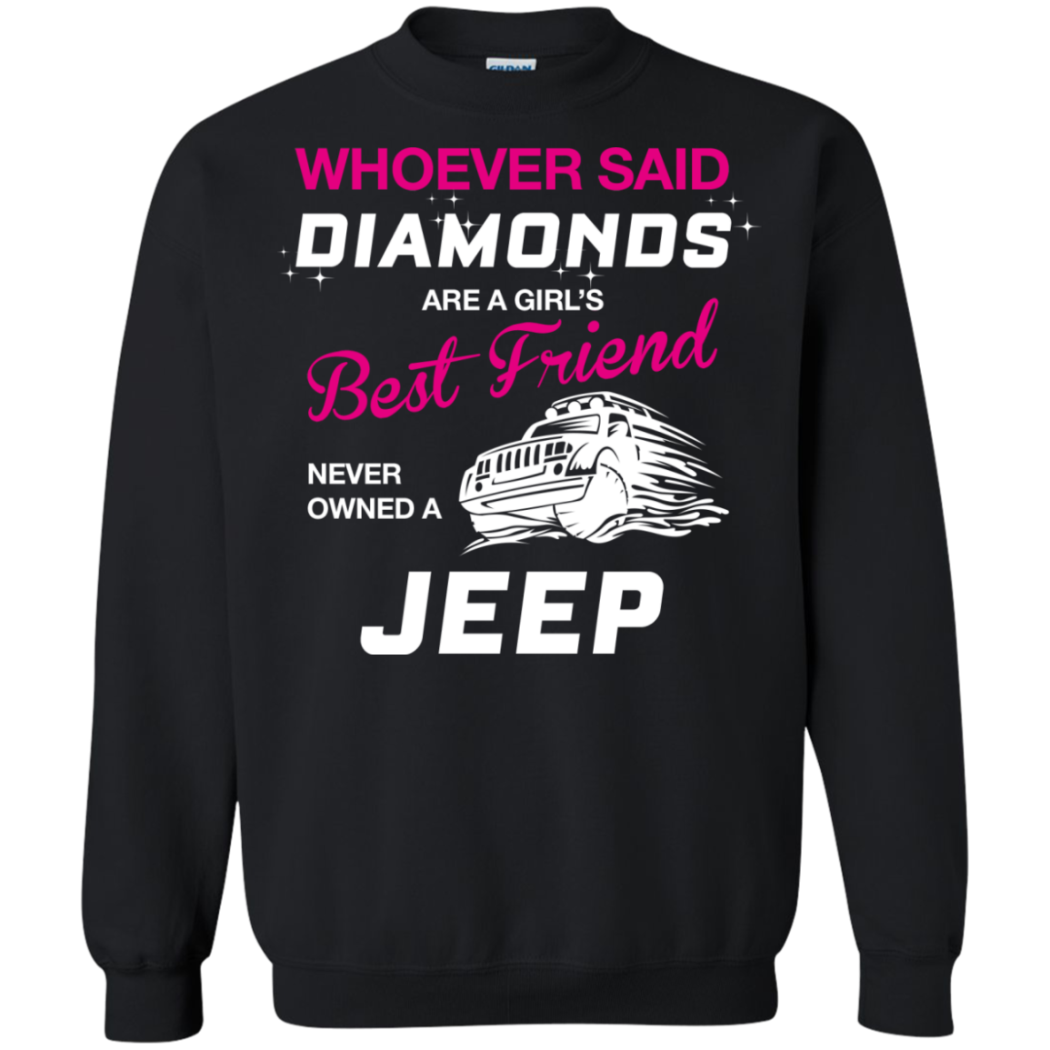 Whoever said DIAMONDS are a girl's Best Friend never owned a JEEP - TheSunCat.com - 5