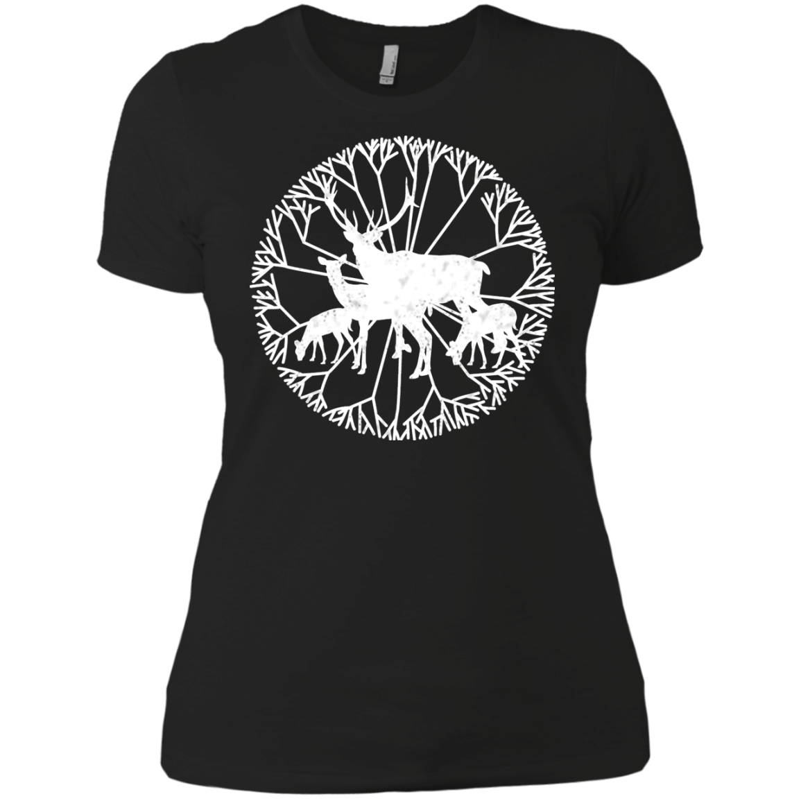 Deer Family Matching Family T-Shirts - The Sun Cat