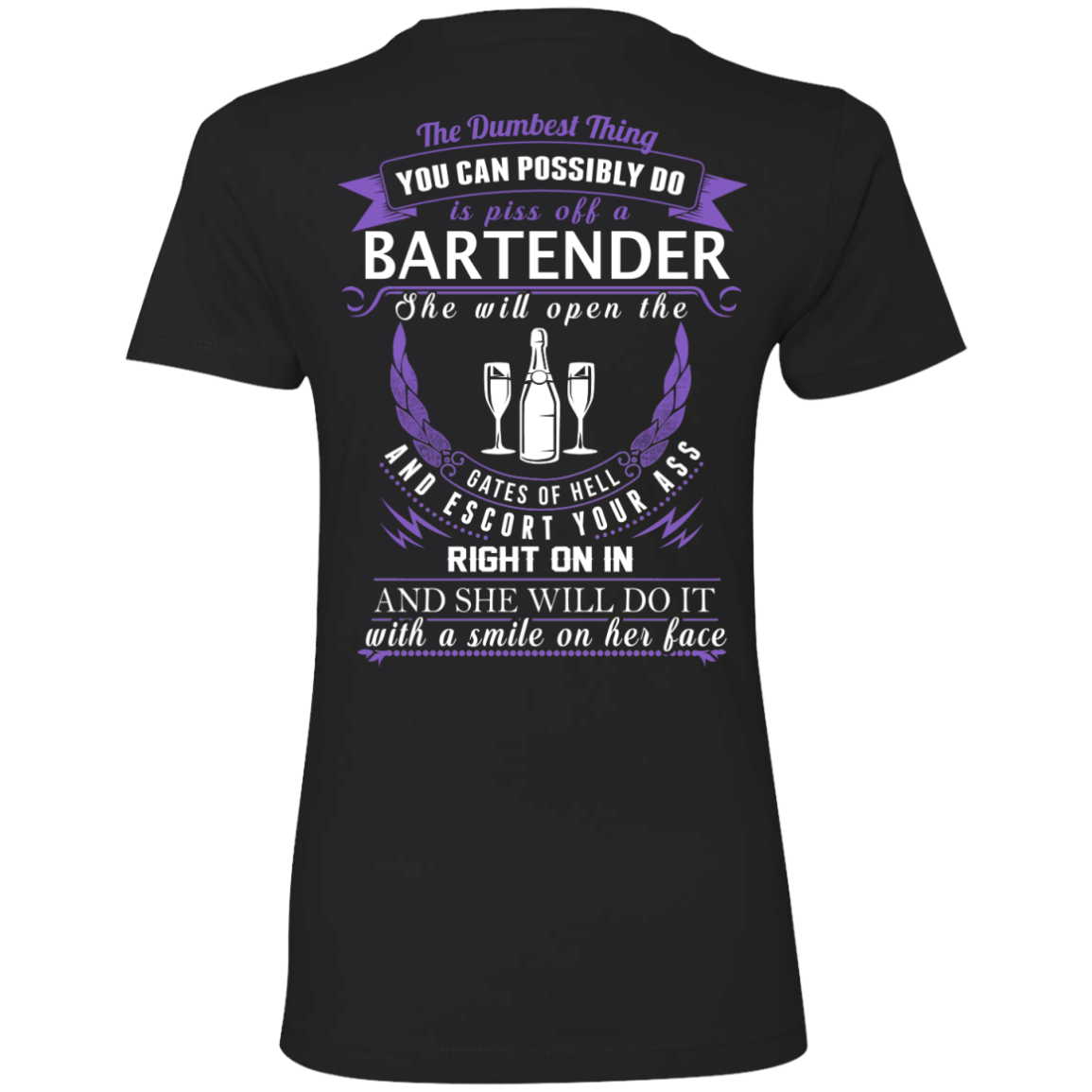 The Dumbest Thing...Bartender...With a smile on her face - TheSunCat.com - 8