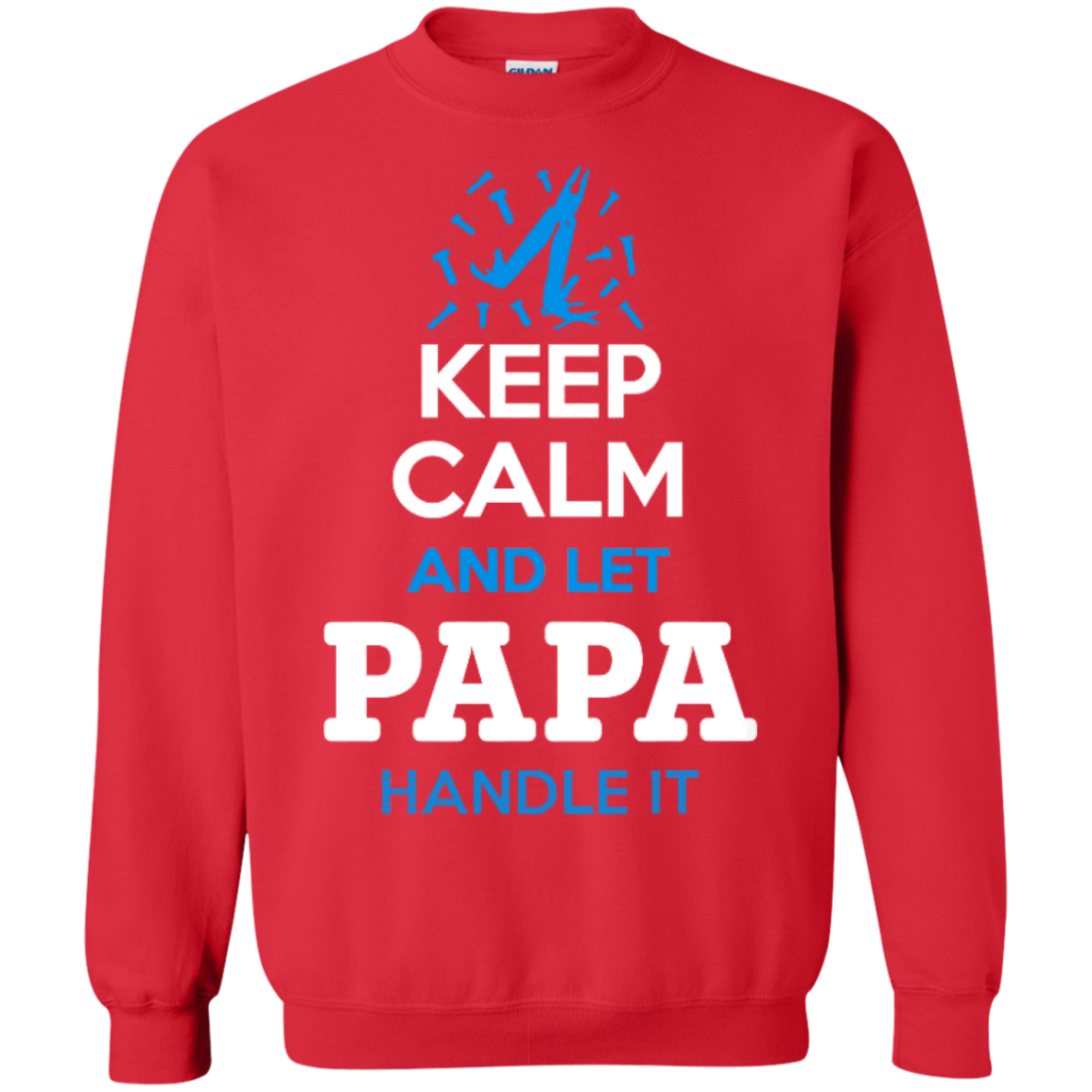 Keep Calm And Let PAPA Handle It - The Sun Cat