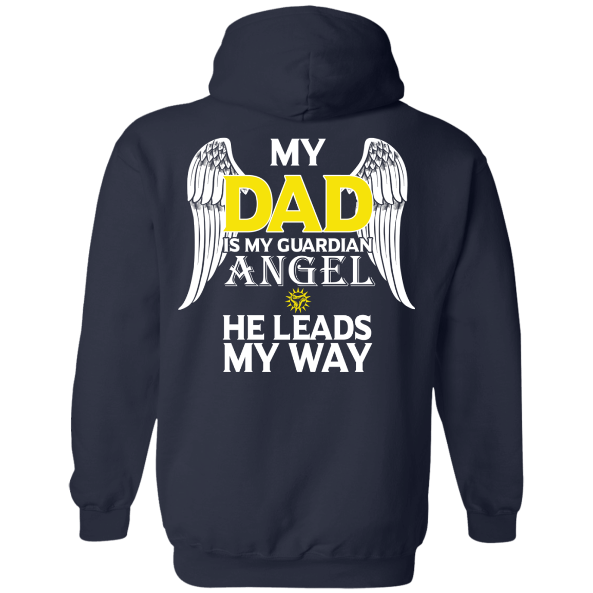 My Dad Is My Guardian Angel He Leads My Way - The Sun Cat