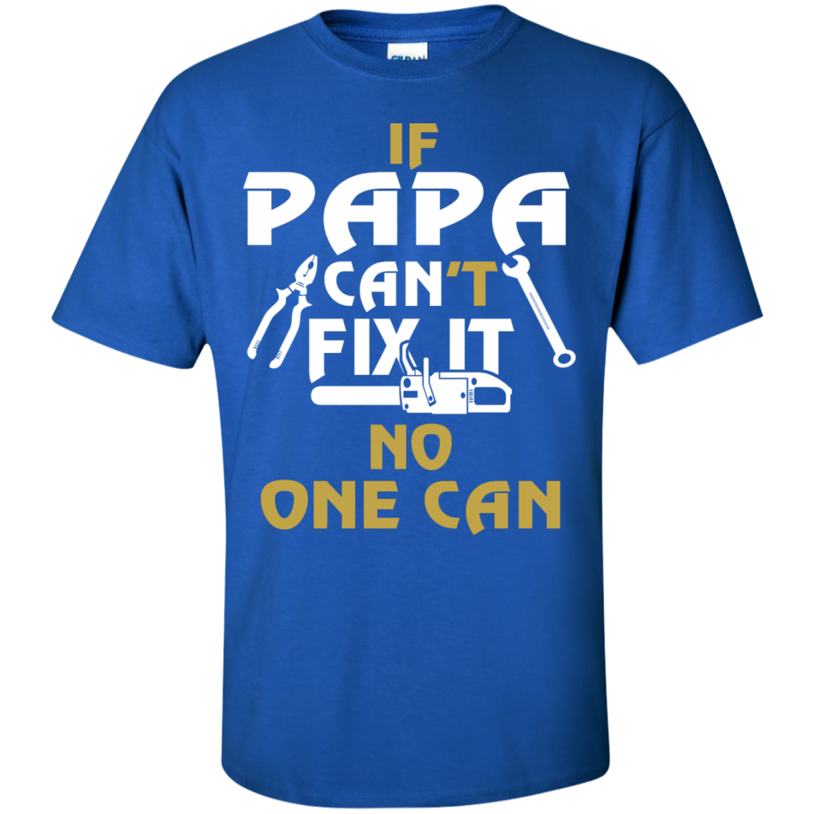 Father's Day Shirt - If PAW PAW Can't Fix It No One Can - The Sun Cat