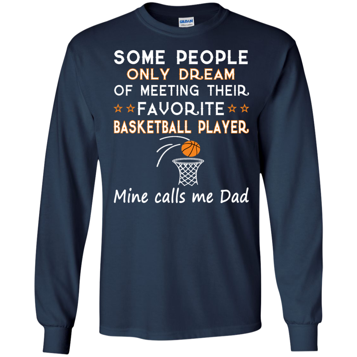 BASKETBALL DAD T-Shirts and Hoodie - The Sun Cat