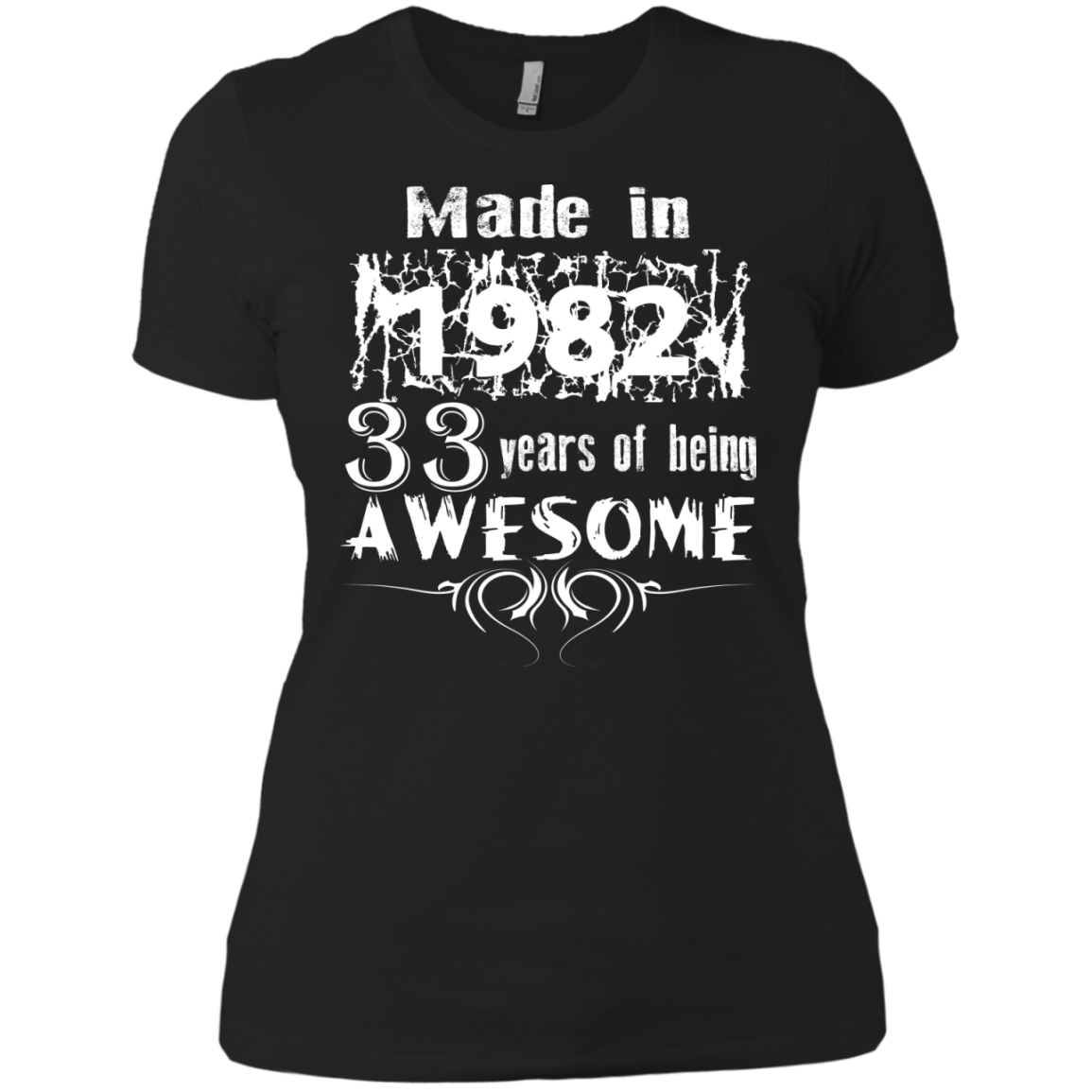 Made in 1982 33 Years of being AWESOME - The Sun Cat
