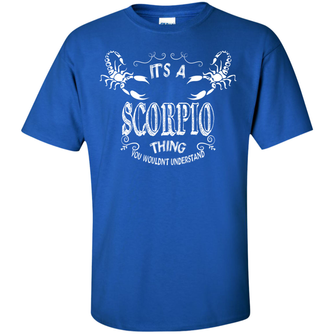 IT'S A SCORPIO THING...YOU WOULDN'T UNDERSTAND - ZODIAC T SHIRT - The Sun Cat