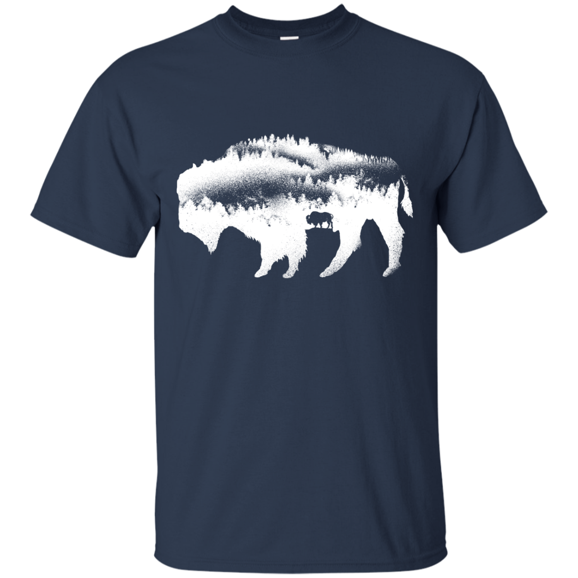 American Bison T-Shirt & Hoodie - The Sun Cat