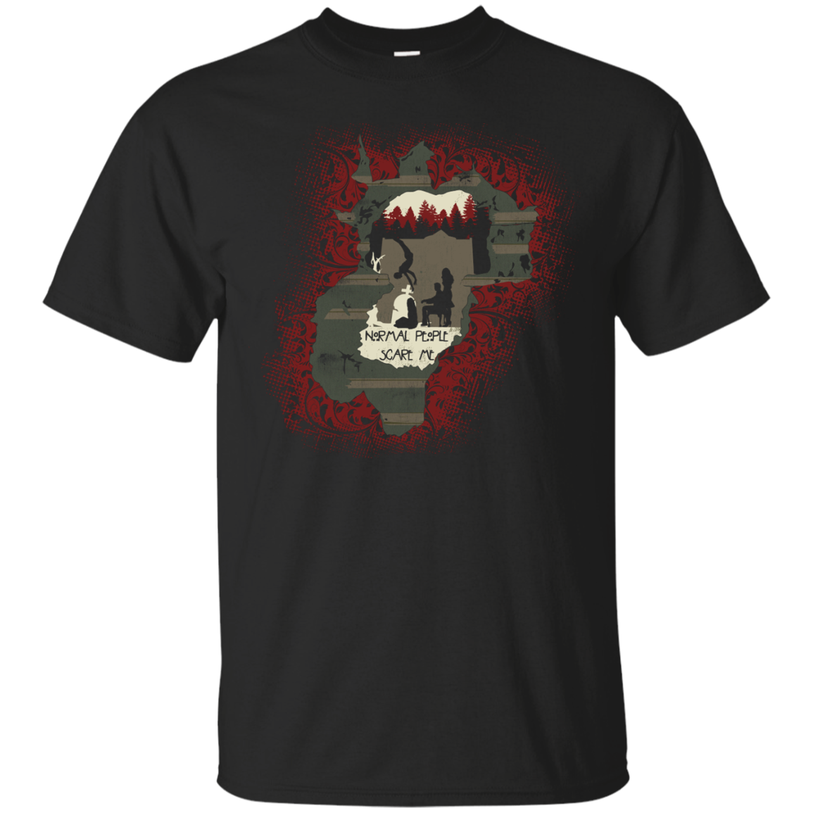 American Haunted house T-Shirt & Hoodie - The Sun Cat