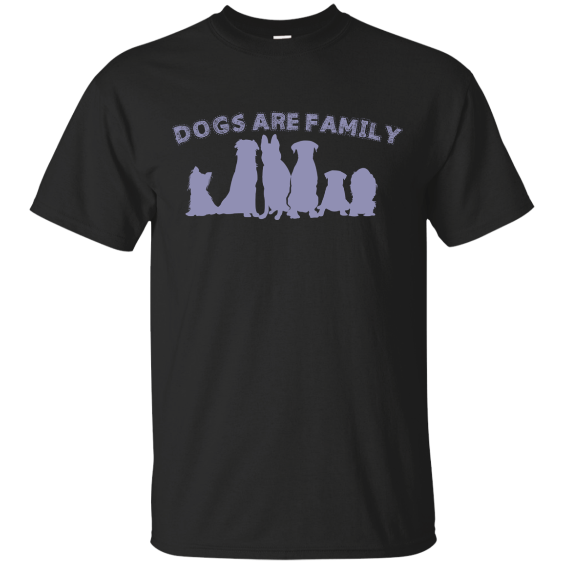 Dogs Are Family Matching Family T-Shirts