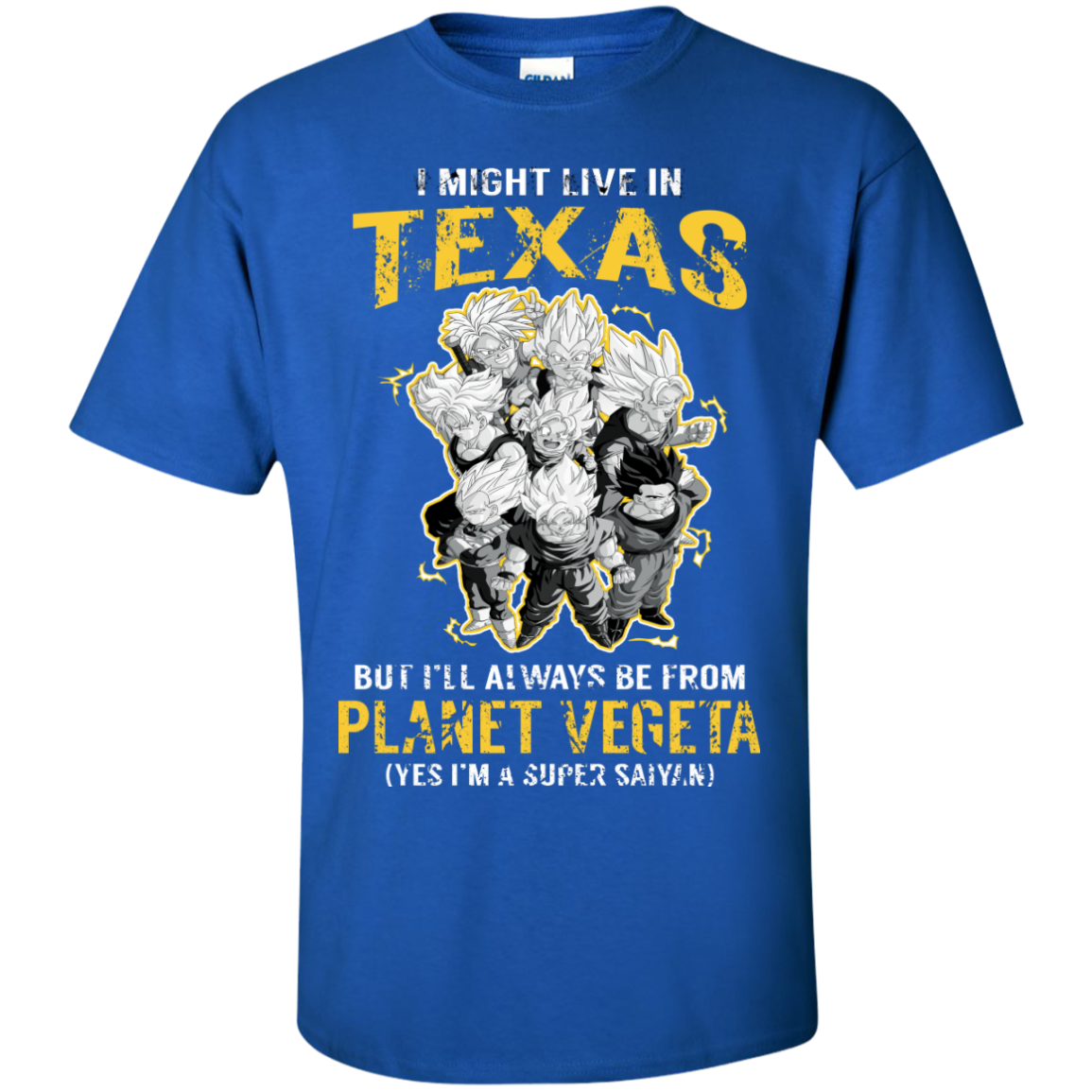 I Might Live In TEXAS But I'LL Always Be From Planet Vegeta(Yes I'm Super Saiyan) - The Sun Cat