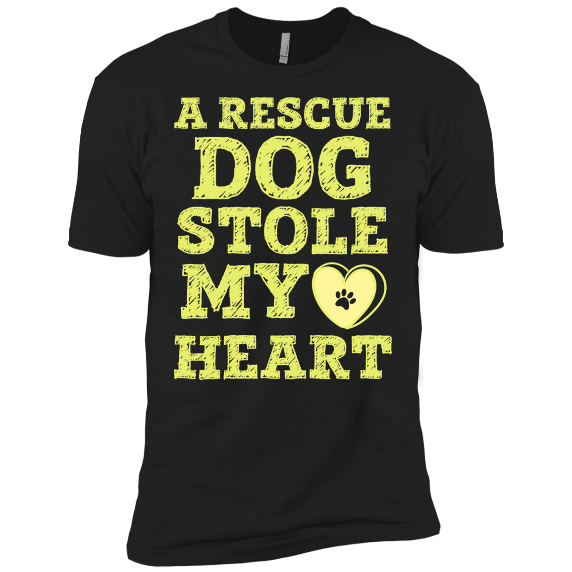 A Rescue Dog Stole My Heart T-Shirt & Hoodie - The Sun Cat