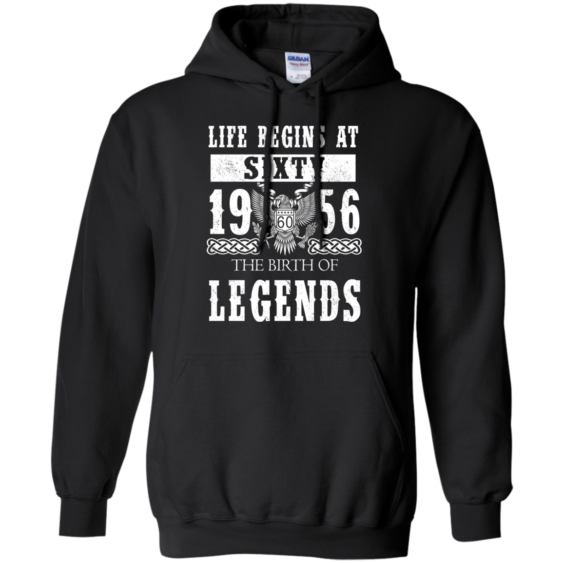 Life Begins At Sixty 1956 The Birth Of Legends T-Shirts - The Sun Cat