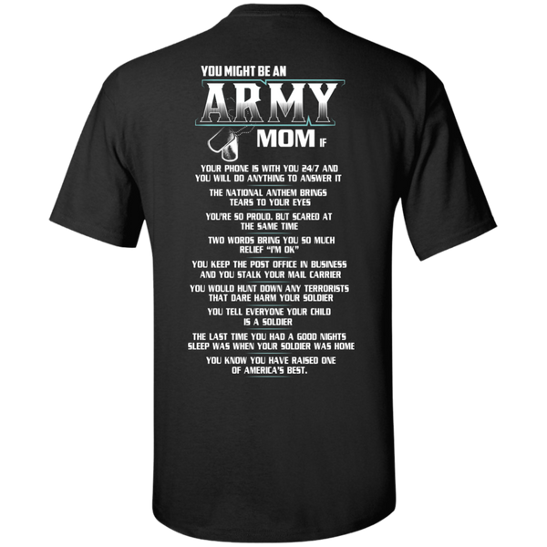 you might be an army mom
