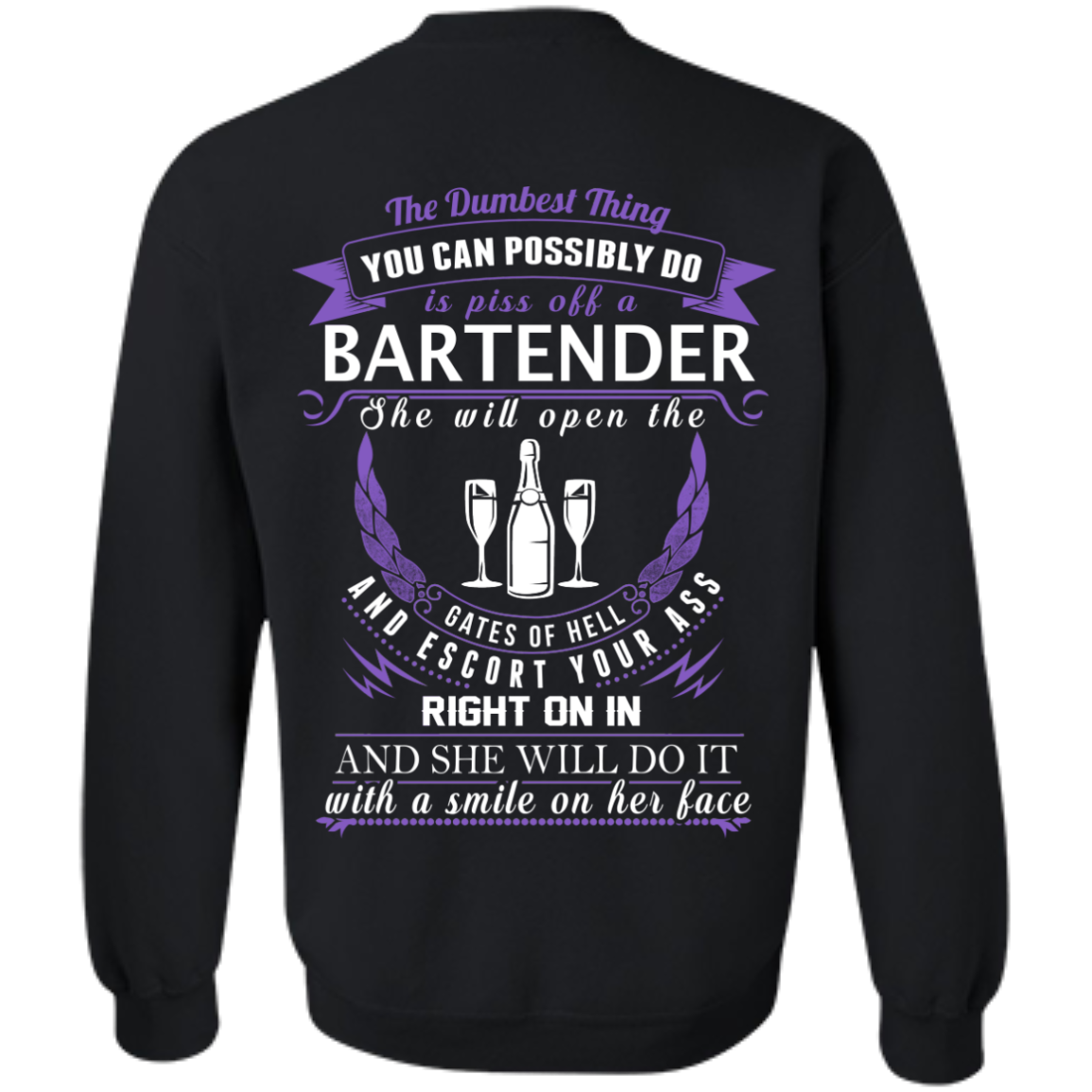 The Dumbest Thing...Bartender...With a smile on her face - TheSunCat.com - 6