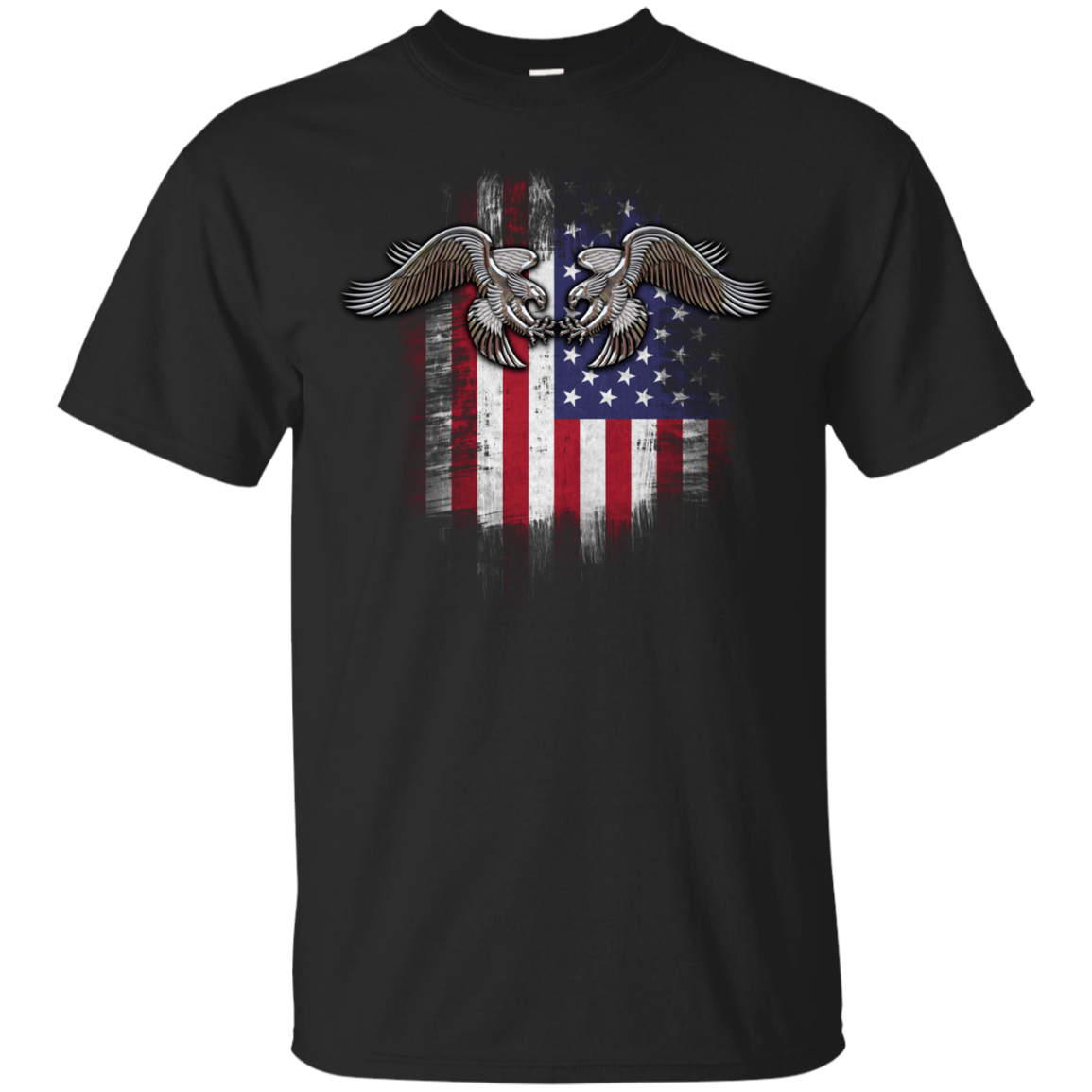 American twin eagles T-Shirts Funny Sports Shirt Football Tee