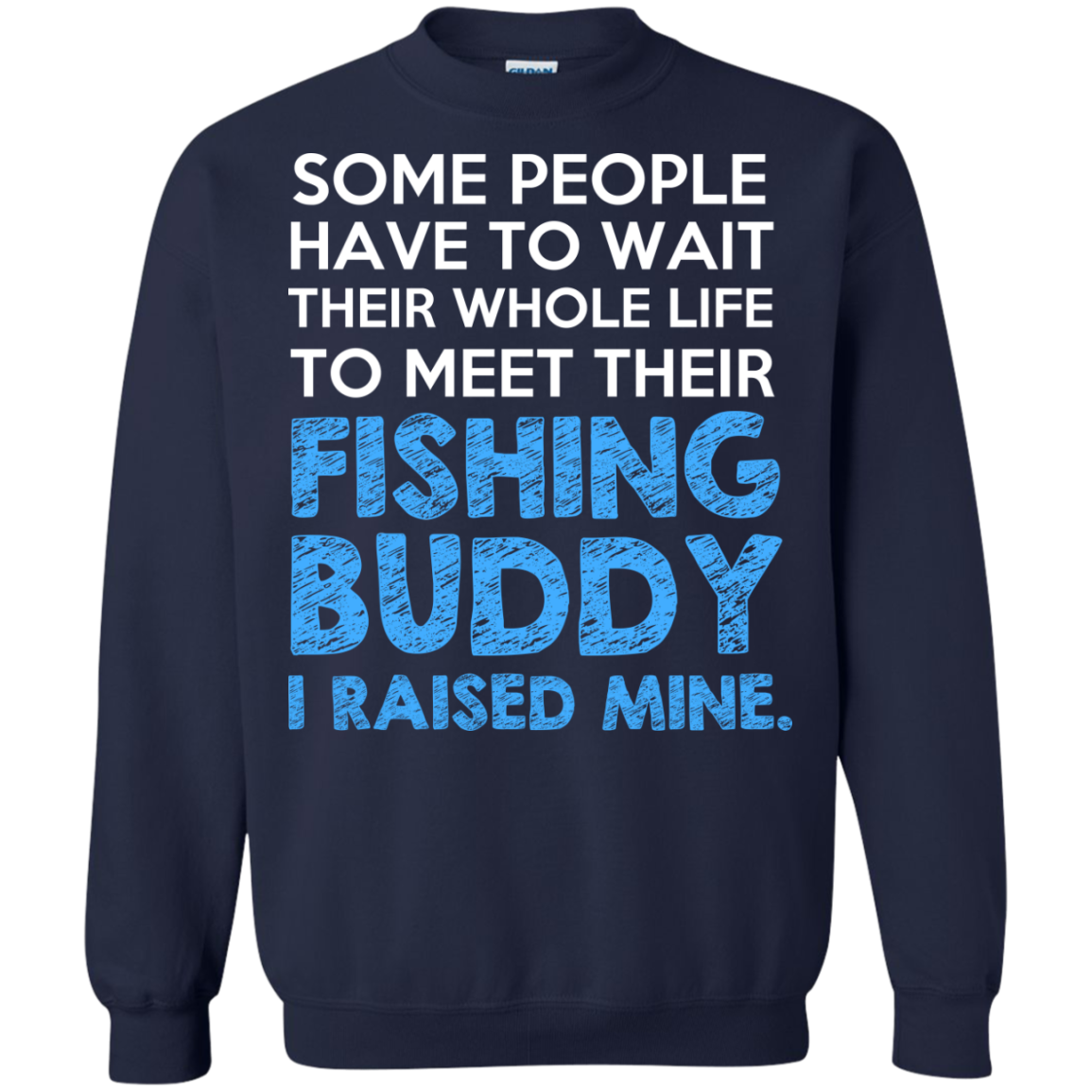Men's I'm Raising My Fishing Buddy Father Gift Tee Best Partner Fisher Dad Fishing T-Shirt - The Sun Cat