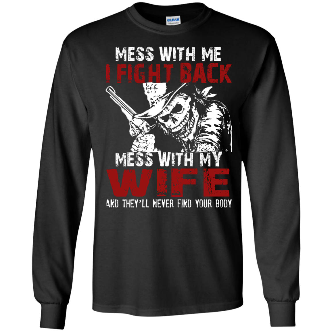DONT MESS MY WIFE Matching Family T-Shirts - The Sun Cat