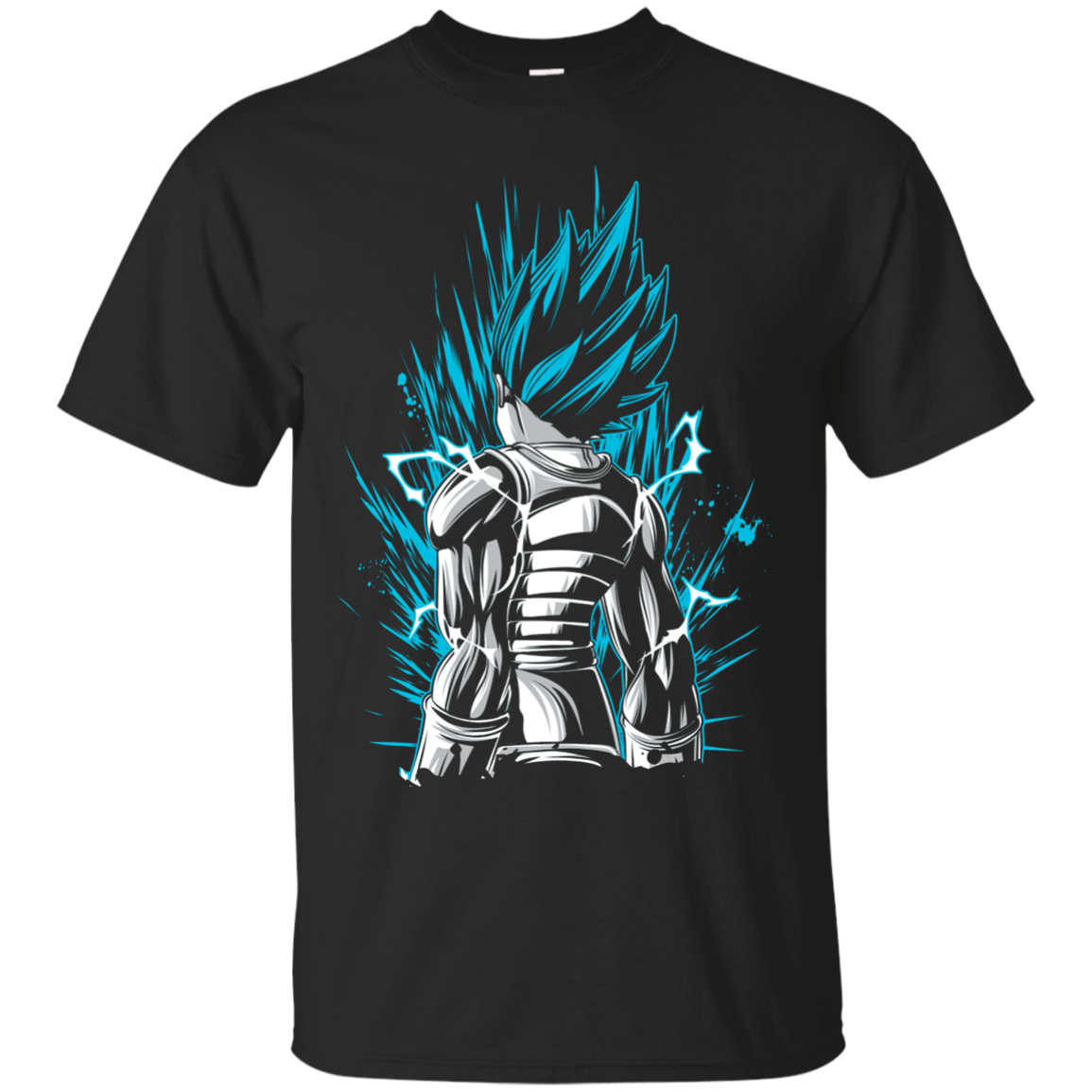 Super Saiyan God Blue Vegeta T Shirt Sweatshirt T Shirt