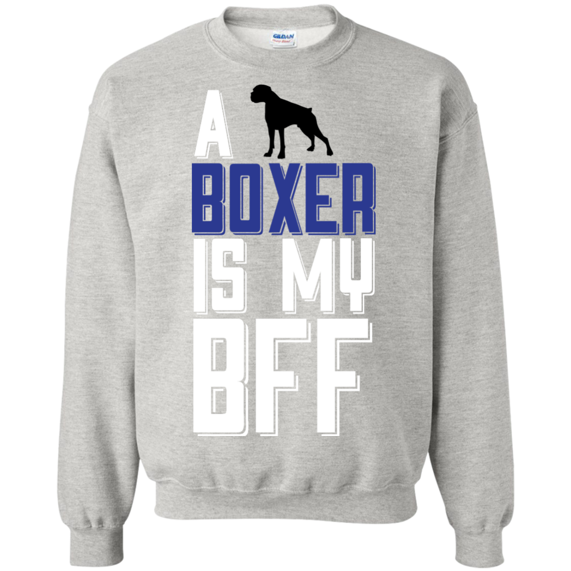 A Boxer Is My Bff  funny T-Shirt Hoodie Long sleeve Sweatshirt - The Sun Cat