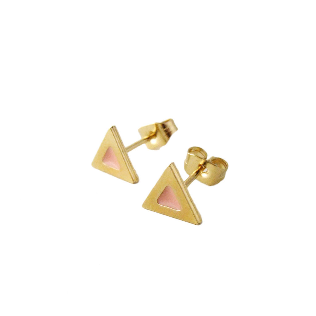 Puces d'oreilles triangles
