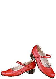 Grishko Folk Shoe Red Leather, Ladies  Size 38 - 03101