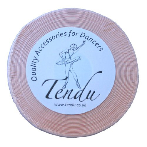 Tendu Double Sided Ballet shoe ribbon 15mm wide (50m Roll)