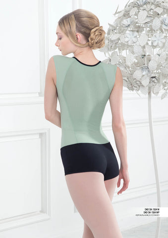 Grishko Sleeveless Short Unitard - DA1504M