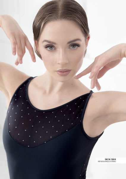 Grishko Leotard With Mesh Detail - DA1508M