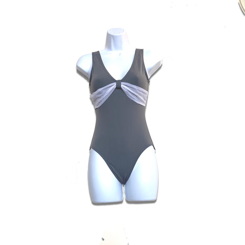 Grishko Leotard With Front Mesh Detail - DA1001M