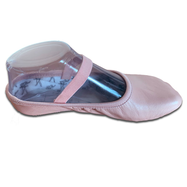 Tendu Pink Leather Ballet slipper - TPLFA