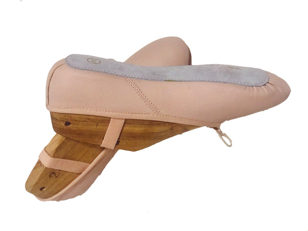 Tendu Pink Leather Ballet slipper - TPLFC