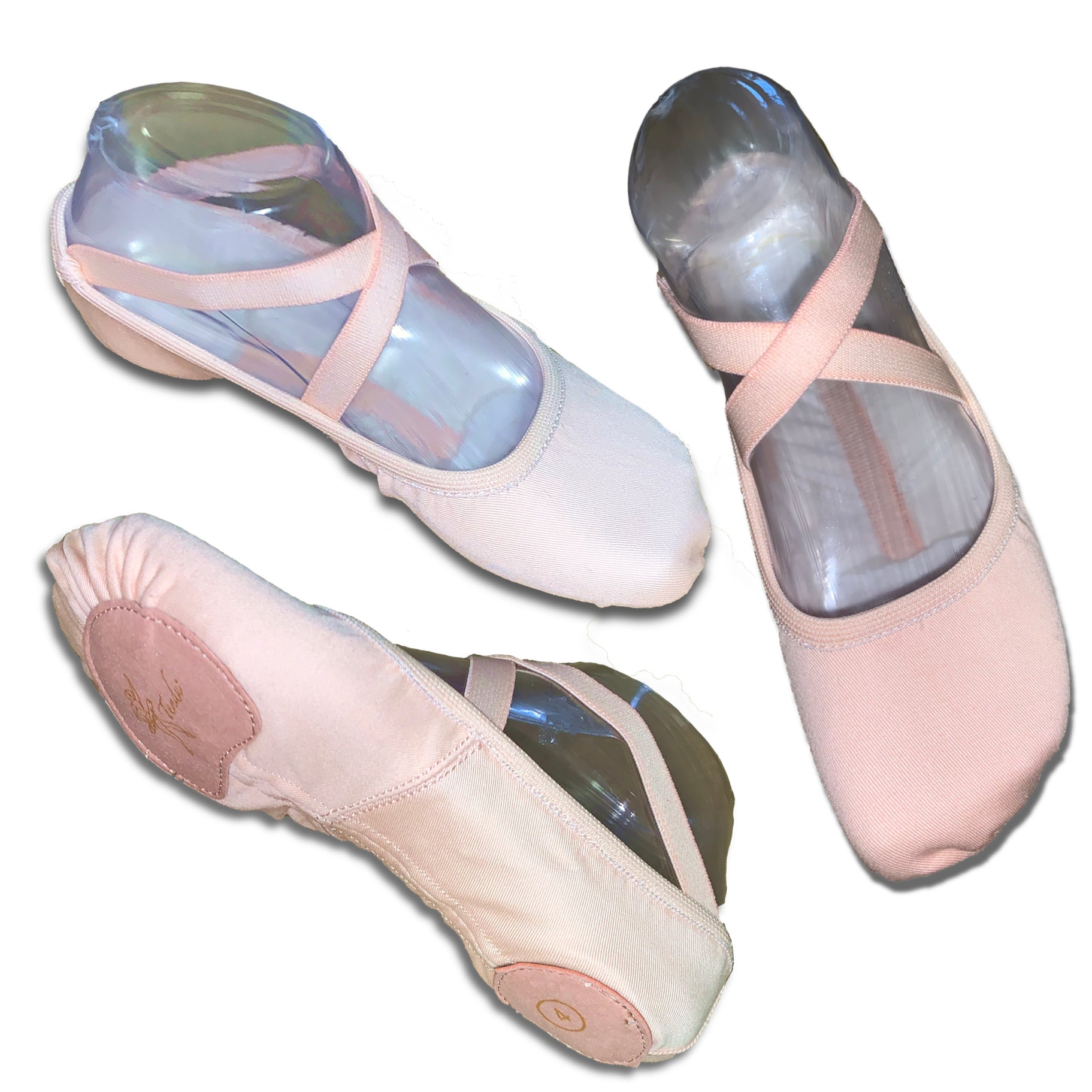 Tendu Vegan  Stretch Canvas Ballet Shoes