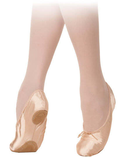 Grishko Ballet Slipper, Model 5, Satin Split Sole - 5SS