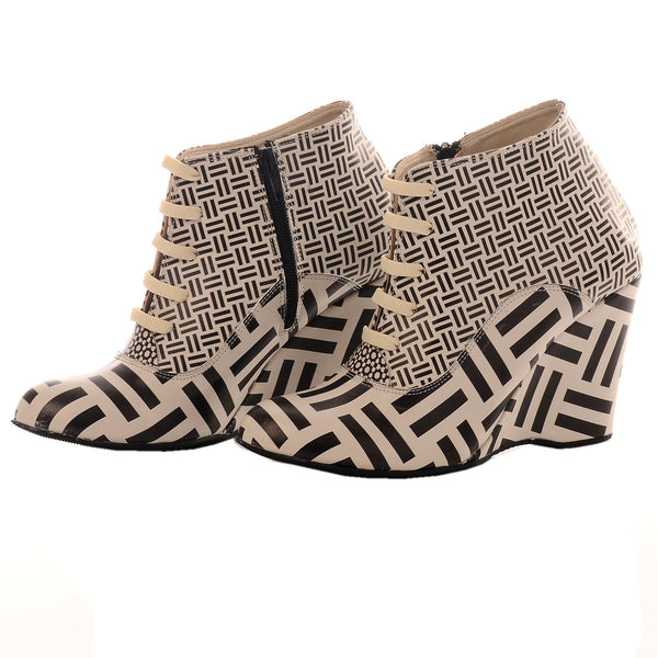 Wedge Ankle Boots BT204