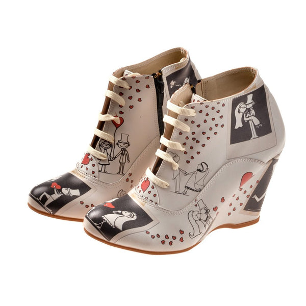 Wedge Ankle Boots BT207