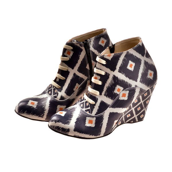 Wedge Ankle Boots BT209