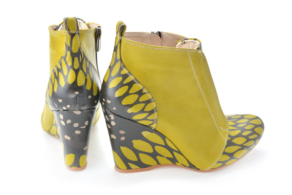 Wedge Ankle Boots BT602