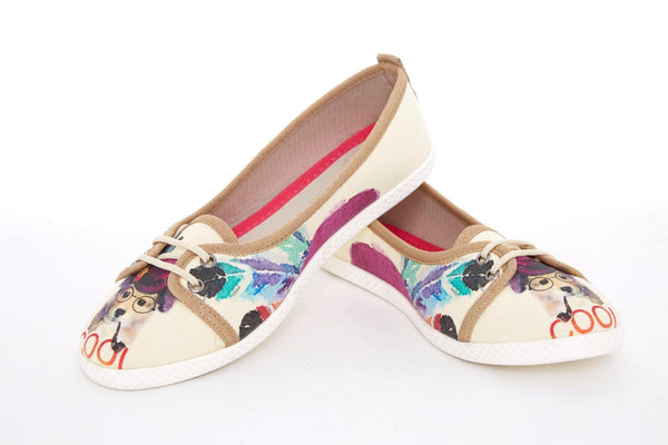 Canvas Ballerinas LCS3010