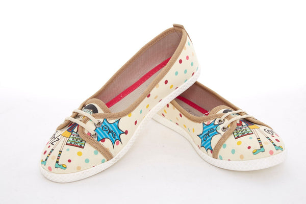 Canvas Ballerinas LCS3012