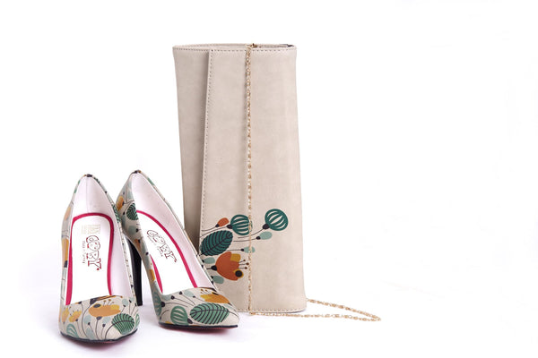 High Heel Shoes & Bag TK5003
