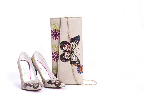 High Heel Shoes & Bag TK5007