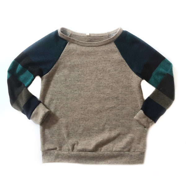Raglan Mocha Sweater