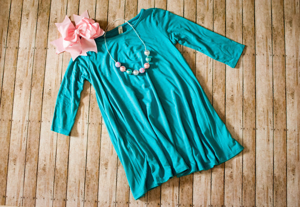 Jade Swing Dress