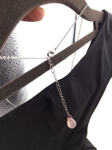 Geometric Hexagonal Necklace - Silver - Shop ROCKUP