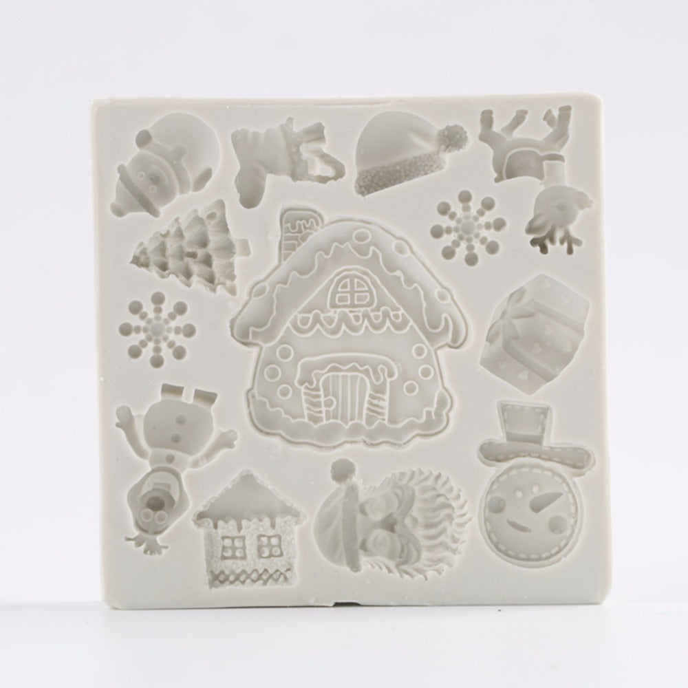 christmas silicone mould